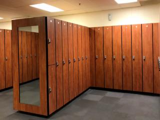Elk Grove Pavilion Lockers