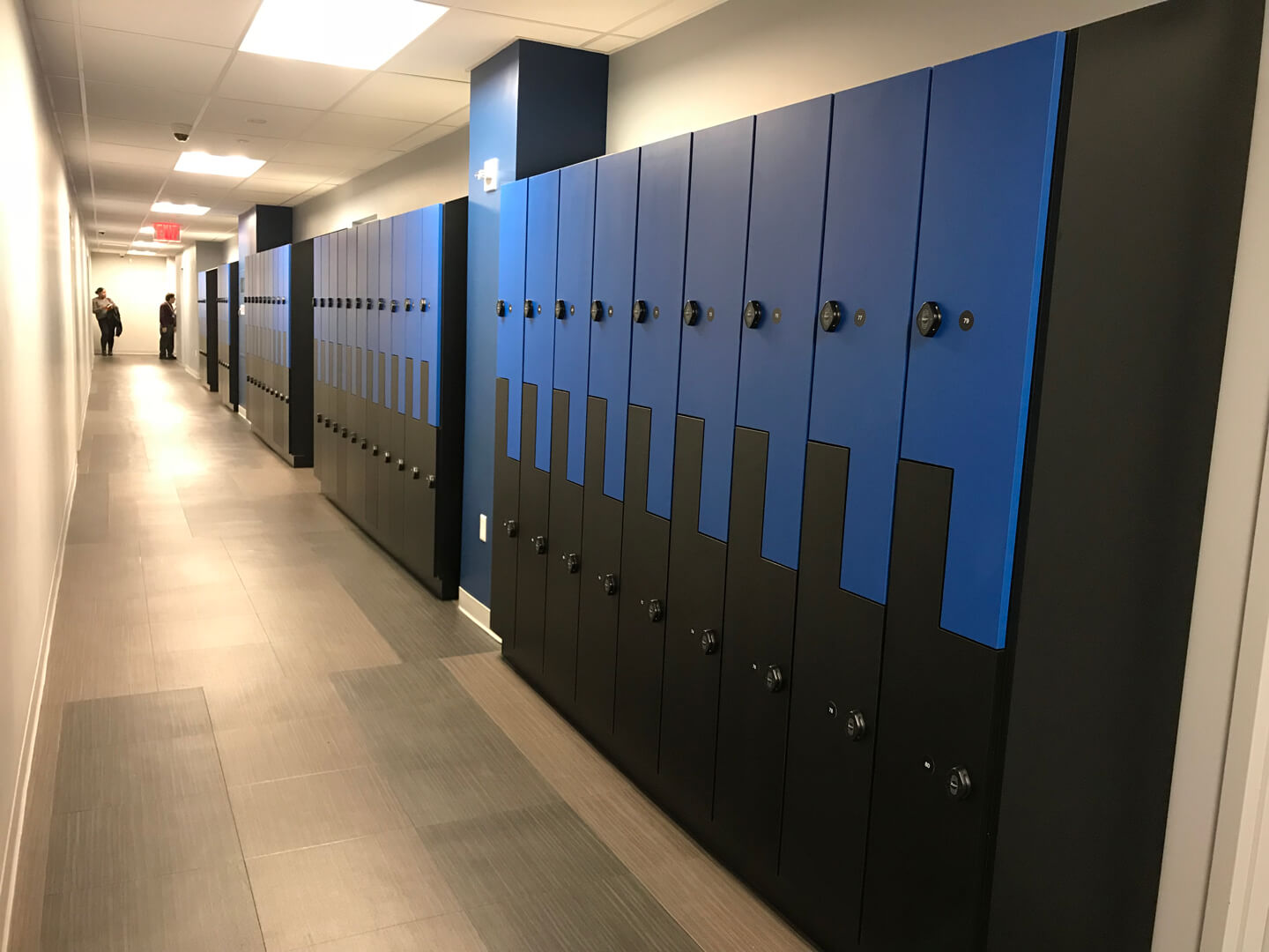 Plaza College Lockers